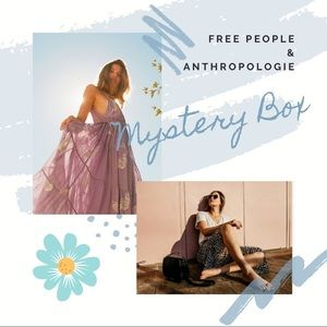 4 Piece Free People & Anthropologie Mystery Box